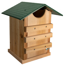 Jcs Wildlife Screech Owl or Saw-Whet Owl House Cedar Nesting Box with Poly