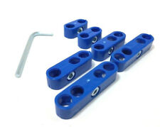 Spark Plug Wire Separators Dividers Looms Ignition 8mm 85mm 88mm 9mm Blue