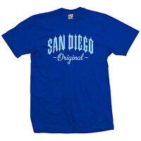 San Diego Original Outlaw T-Shirt - OG Born in So Cal SD Tee - All Size & Colors