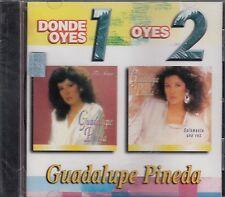 Guadalupe Pineda Donde Oyes 1 oyes 2 CD New Nuevo Sealed