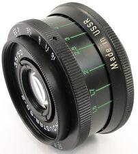 ⭐MINT⭐ 1978! INDUSTAR 50-2 50mm f/3.5 Russian Lens M42 Olympux Lumix Fujifilm FX