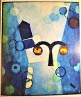 """Fine Vintage Midcentury Surrealistic Painting:  """"Aries"""" -  $850"""