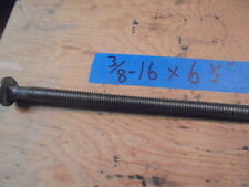 Steel Carriage Bolt 3/8-16 x 6-1/2, (30) Bolts for $58.00!