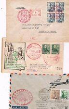 España. Conjunto de 8 sobres circulados y con matasellos especiales