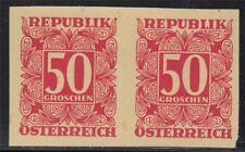 Österreich 1949 Nr. 241 PU (*) PAAR ungezähnt tadelos Befund VÖB