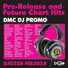 DMC DJ Only 228 Promo Chart Music Disc for DJ's Double CD Radio Edit & Remixes