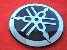 GENUINE Yamaha Tuning Fork Tank Frame Sticker Decal Badge Emblem 55mm x 1 BLACK