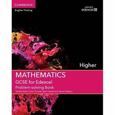 GCSE Mathematics for Edexcel Higher Problem-Solving Book by Coral Thomas, Tabith