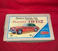 Vintage Tin Mercedes Benz Remote Control Car Made in Japan