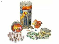 Enchanted Castle Adventure Playset 1998 Book Puzzle Dragon Medieval Toy Game