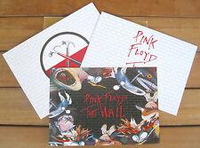 PINK FLOYD The Wall Esclusivo Set con 3 Cartoline (Exclusive Set of 3 Postcards)