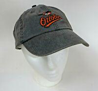Baltimore Orioles Old Logo Gray Brim SGA Dap Strap Back Hat Cap