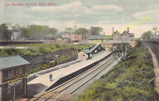 West Derby Railway Station Photo. Liverpool - Knotty Ash. Cheshire Lines. (1)