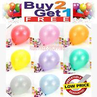 20 x Balloons Large Baloons Pearlised Helium Birthday Party Wedding Christening