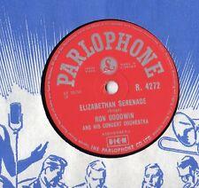 "Ron Goodwin Elizabethan Serenade 10"" Single 1956 / 78 RPM"