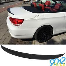 für BMW 3er E93 CABRIO Heckspoiler GLANZ SCHWARZ PERFORMANCE Optik Heckflügel