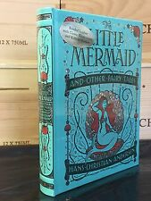THE LITTLE MERMAID by HANS CRISTIAN ANDERSEN Illustrated, Leatherbound & NEW!