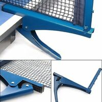 Table Tennis Ping Pong Net Replacement Indoor Game Post Clamp Stand Set Training
