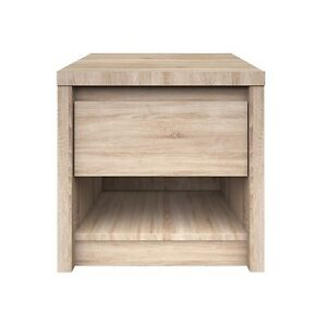 Night stand, bedside cabinet with drawer, oak sonoma, soft close !! Norton