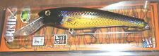 "9"" Ernie Musky Mania Pike Muskie Crankbait Holoform Golden Shiner ED-900 Drifter"
