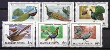 MAGYAR POSTA HONGARIJE # 3185-90 # MNH vogels birds oiseaux Vögel  [151]