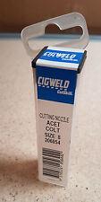Cigweld Cutskill 206054 Cutting Nozzle Oxy / Acetylene Type 41 Size 8 New