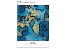 Poster Klee Es Dammert Carta Fotografica 45x60 Stampa Arte di Qualità G026