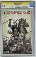 Walking Dead #129 SDCC Variant Signed Robert Kirkman SS CGC 9.8