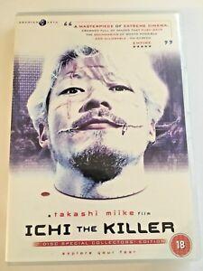 Ichi The Killer (DVD, 2003, 2-Disc Set) Takashi Mike, Cult Film