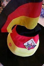 German Colors,Germany,Soccer,Deutscher Fussball,wiggeling,whistle  screaming Hat