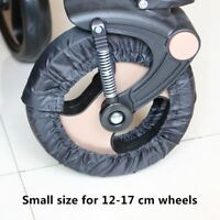 2 Pcs Stroller Wheels Cover For 12 To 29 CM Wheelchair Baby Carriage Accessories