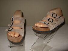 Birkenstock Birki's Florida Brown Suede Sandals Slides Sz.36 EU/ 5 US Cute!