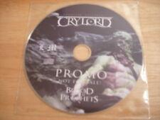 RARE PROMO OOP Boguslaw Balcerak's Crylord CD Blood Of the Prophets KING DIAMOND