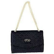 Firetrap Quilt Clutch Ladies Bag Party Wedding Evening Handbag Black B251-21