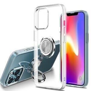 Clear Soft Stand Shockproof Bumper Cover Case For iPhone 13 Pro Max iPhone 12 11