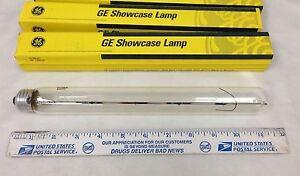 75T10/45 Showcase Lightbulb GE# 17754 T10 120V 75W Medium E26 Base 2-pcs