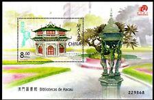 Macau Block 132 ** Bibliotheken  Michel 20,00 (792)