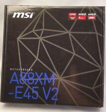 MSI A88XM-E45 V2 FM2+ Micro AMD ATX Motherboard **NEW**