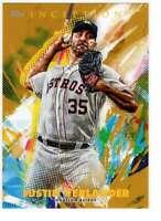 Justin Verlander 2020 Topps Inception 5x7 Gold #82 /10 Astros