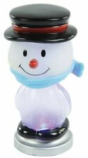 PC Computer USB Colour Changing Snowman with 7 LED Lights ideal for Gift Novelty