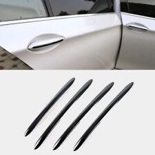 Black Side Door Handle Cover Stripe Trim for BMW 5 series F10 F18 F11 2011-2017
