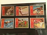 Rep de Guinea Olympic sports cancelled stamps  R21884