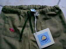Pantalon fille PETIT BATEAU en 6 ans vert rose bleu NEUF Etiquette