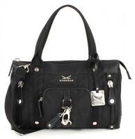 Sansibar Zip Bag Tasche Handtasche Schultertasche Typhoon Schwarz Black