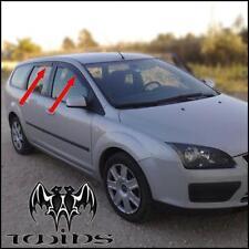 Deflettori Antiturbo Oscurati Ford Focus mk 2 II SW 2004-2010 station wagon