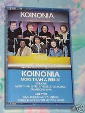 Koinonia - More Than A Feelin' cassette for cheap sale *Free Post