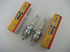 NEW NGK OUTBOARD SPARK PLUGS. 2 X BR7HS-10