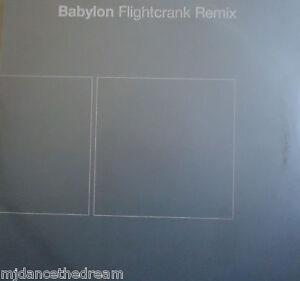 "BABYLON ~ Fightcrank REMIX ~ 10"" Single PS PROMO"
