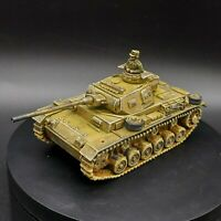 Pro Painted 28mm bolt action German DAK panzer III w/tank commander ww2(plastic)