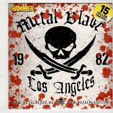 (GQ148) Metal Blade, Los Angeles, 15 tracks various artists - Metal Hammer CD